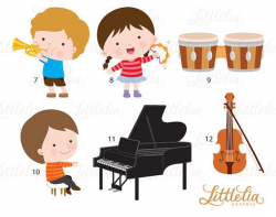 Music class clipart - musician clipart - 16102 | сенсорика ...