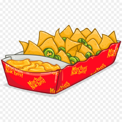 Nachos Mexican cuisine Tortilla chip Clip art - chese png download ...