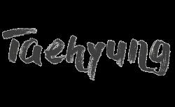 taehyung bts name kpop words - Sticker by ᴋaʀy