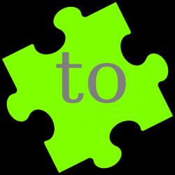 Puzzle Piece Word To Clip Art at Clker.com - vector clip art online ...