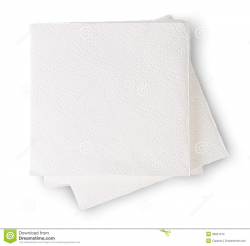 Packaged Paper Napkin Clipart