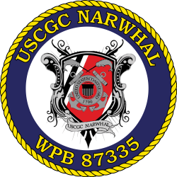 File:USCGC NARWHAL.svg - Wikimedia Commons