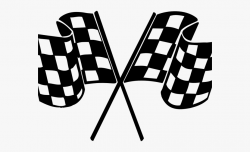 Racing Clipart Finish Line - Checkered Flag Png #255994 ...