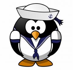 Clipart Free Download U S Navy Clipart - Penguin Sailor, HD ...