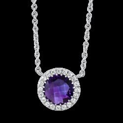 0.24 carat diamond necklace – Diamondland