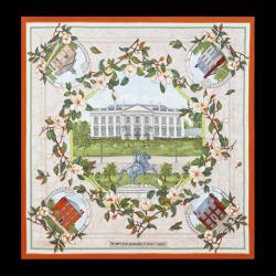 White House Neighborhood Scarf | The White House Historical Association