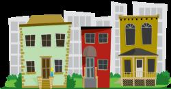 74+ Neighborhood Clipart | ClipartLook