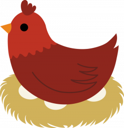 Download Free png hen on nest clipart - DLPNG.com