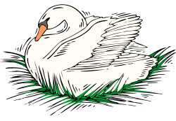 Free Swan Clipart
