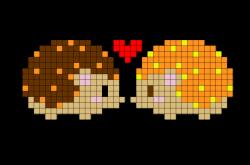 Hedgehog Pixel Art   Pinterest   Hedgehogs, Cross stitch and Stitch