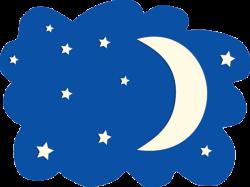 Moon And Stars Clipart 2 - 600 X 566   carwad.net