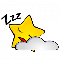 Clipart - Starry night: Star