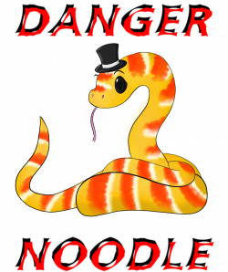 28+ Collection of Danger Noodle Drawing | High quality, free ...