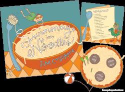 swimming in noodles — Yellow Pencil Studio | illustration & design ...