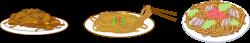 Clipart - Yakisoba (Fried Noodles)