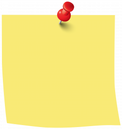 Sticky Note PNG Clip Art Image | Gallery Yopriceville - High ...