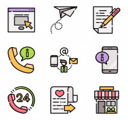 15 notepad icon packs - Vector icon packs - SVG, PSD, PNG, EPS ...