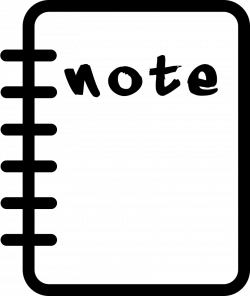 Notepad Svg Png Icon Free Download (#241483) - OnlineWebFonts.COM
