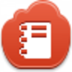 Notepad Icon   Button   Pinterest   File format, Clip art and Filing
