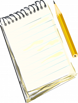 Notepad & Pencil Icons PNG - Free PNG and Icons Downloads