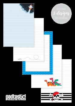 Adventure Mixed Design Notepad - Padtastic
