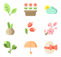 Spring Icons - 523 free vector icons