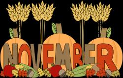 November Clipart Free Screen Saver | November 2018 ...