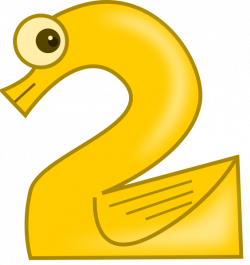 Animal Number 2 Clipart