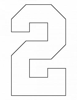 number 1 stencil printable - Romeo.landinez.co