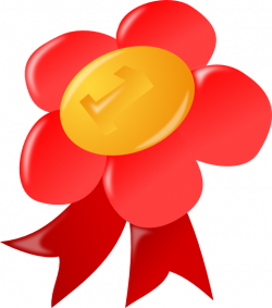 Red First Place Award Ribbon Clip Art at Clker.com - vector clip art ...