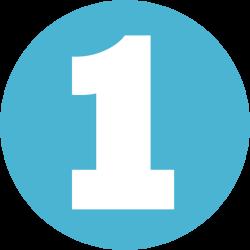 Number Clip art - Number 1 PNG 1000*1000 transprent Png Free ...