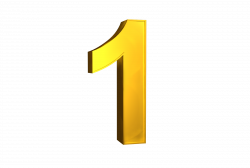 Number 1 png free download