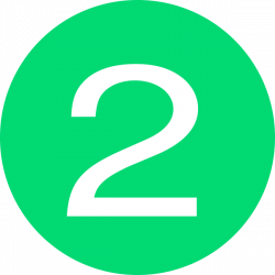 Number 2 Button Green Clip Art at Clker.com - vector clip art online ...