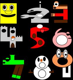 Numbers Are Fun Clip Art at Clker.com - vector clip art online ...