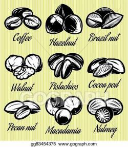 Vector Illustration - Set of symbols patterns different ...