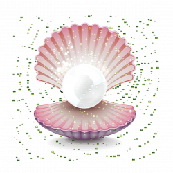 Oyster Pearl Seashell Gemstone Clip art - Pearl shell 1181*1181 ...