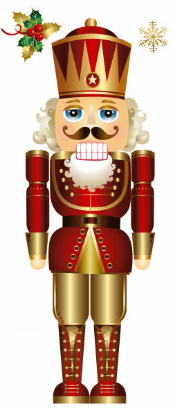 Free Christmas Nutcracker Clipart #1 | Adult Coloring | Pinterest ...