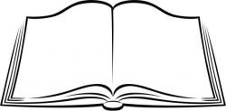 Book Clipart School Clipart | sablonok | Book clip art, Open ...