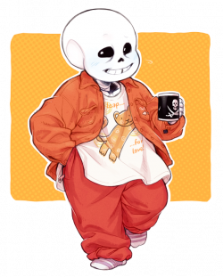 """theslowesthnery: """"another sans wearing what i'm currently wearing ..."""