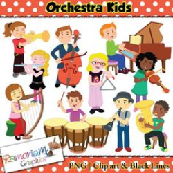 Animal Orchestra, Music instrument, musical, music, band, Clipart ...