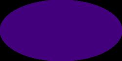 Purple Oval Clipart