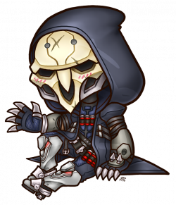 Image - Chibi overwatch reaper by roseannepage-dajnypa.png | Animal ...