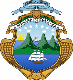 Costa Rica | Coat of arms | Pinterest | Costa rica
