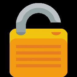 Lock open Icon | Small & Flat Iconset | paomedia