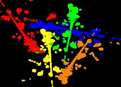Paint Splodges Group (50+)