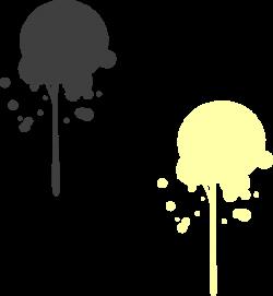 Yellow Paint Drip Moved Clip Art at Clker.com - vector clip art ...