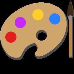 Clipart - Paint Palette