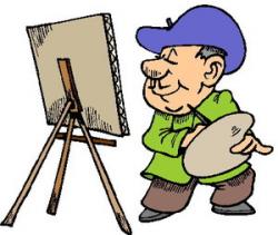 Painting Clip Art | PicGifs.com