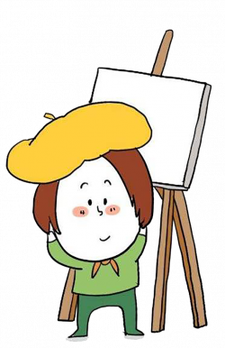 Cartoon Child Painting Painter - Child painter 756*1169 transprent ...