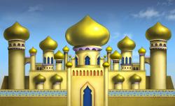 Arabian Palace Clipart